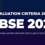 CBSE Class 12 Evaluation Criteria 2021