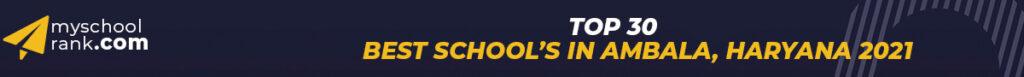top-30-best-school-in-Ambala