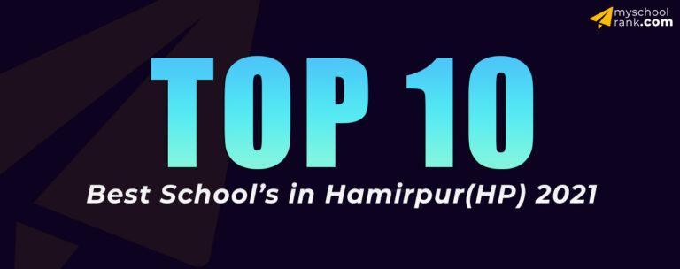 top 10 hamirpur my school rank